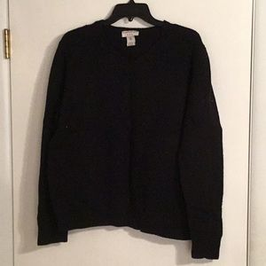 V neck lambswool sweater